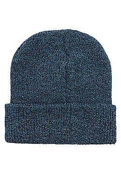 Antique Petrol Heritage Beanie Blue - Blue