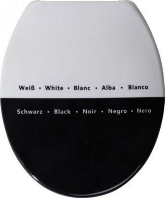 Sanwood Paradoxum Toilet Seat in White