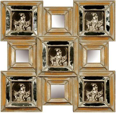 Muliti Mini Gold Photo Frame