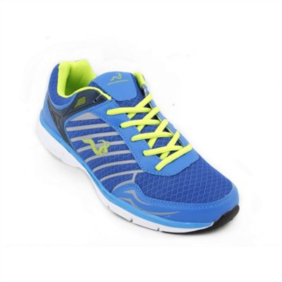 Woodworm Sports Mfs Mens Running Shoes / Trainers Royal/Grey Size 8.5