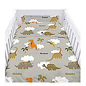 Jurassic Cot Duvet Cover Set with Pillowcase
