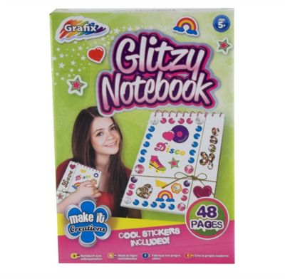 Grafix Glitzy Notebook