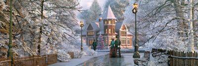 Christmas Invitation - 1000pc Panoramic Puzzle
