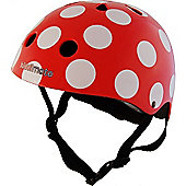 Kiddimoto Helmet Small (Dotty Red)