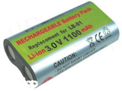 U-bop PowerSURE Performance Digital Camera Battery Fuji CRV-3 (1100 Mah+) For Camedia E-20 D-100 D-150 D-150/C1D-230 D-230
