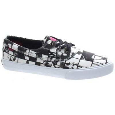 Lakai Camby Black/White Canvas Shoe