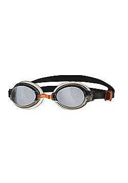 Zoggs Hydro Adult UV Swimming Goggles - Black