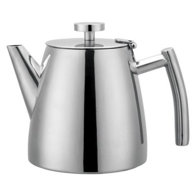 Grunwerg Cafe Ole Double Walled Teapot, 1.2L
