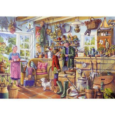 The Fishing Shed Puzzle
