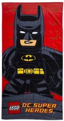 Lego Dc Superheroes 'Kapow' Printed Beach Towel