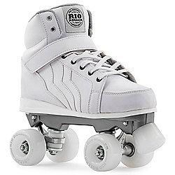 Rio Roller Kicks Quad Roller Skates - White - White