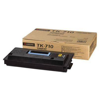 Kyocera Mita TK-710 Black (Yield 40,000 Pages) Toner Kit for FS-9130DN/FS-9530DN Printers