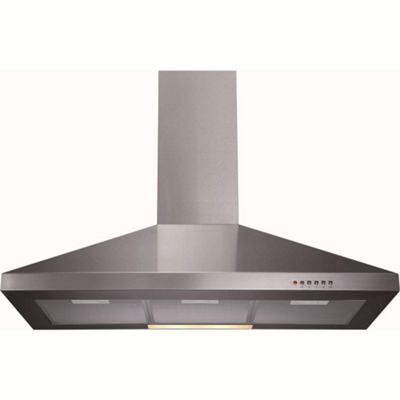 CDA ECH91SS Level 1 90cm Wide Chimney Cooker Hood Stainless Steel