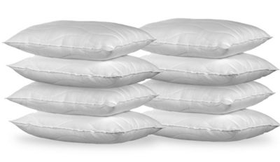 Happy Beds Luxury Cotton Pack of 8 Pillows