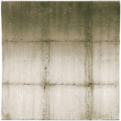 Oceans Apart Concave Block Silver Wall Art