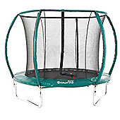 10ft Skyhigh Orbisphere Trampoline with Enclosure and Ladder