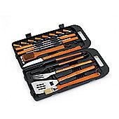 Landman 0296 Bbq Tool Kit in Case 18Pce