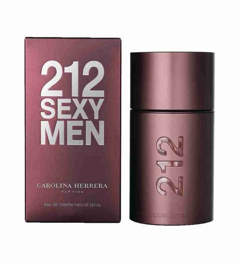 Carolina Herrera 212 Sexy Men 50ml Eau de Toilette Spray