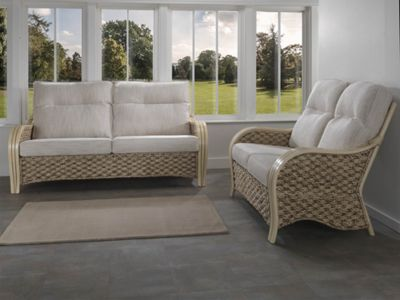 Desser Milan 3 Seater and 2 Seater Conservatory Sofa Set