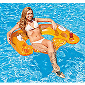 Intex Sit-N-Float Inflatable Pool Raft Chair Lounger