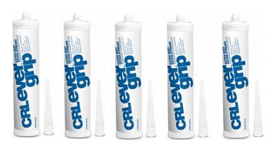 5 X Ever Grip Glue Adhesive Extra Strong Extra Fast .Perfect For Mirror Glass