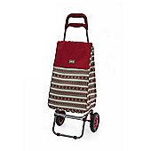 Sabichi 2 Wheel 40L Shopping Trolley, Home Bistro