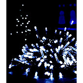 200 LED White Multi Action Christmas Xmas Decoration Indoor or Outdoor Lights