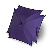 Universal Pram Pushchair Sun Parasol - Sun Umbrella Shade Canopy - Purple