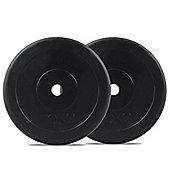 Bodymax Standard Rubber Weight Plates - 2 x 10kg