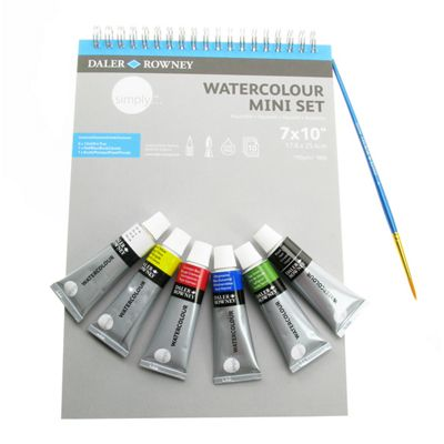 Daler Simply Watercolour Mini Set