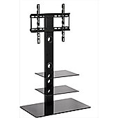 MMT CBM3 Black Cantilever TV Stand for TVs up to 55 inch