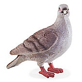 Realistic Life-size Grey Dove Bird Garden Ornament