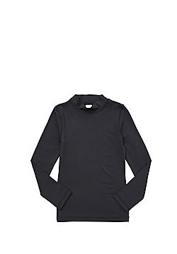 F&F Easy Care Quick Dry Base Layer Top - Black