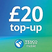 Tesco Mobile £20 Top Up