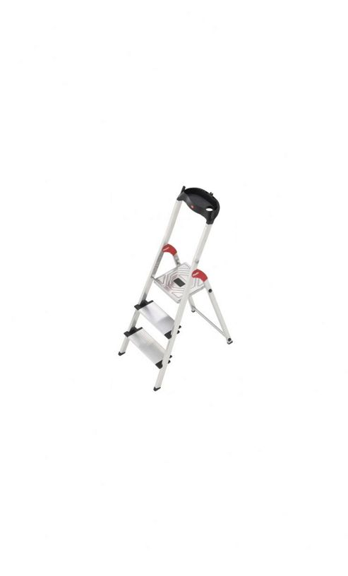 Hailo 237cm XXL Aluminium Safety Stepladder