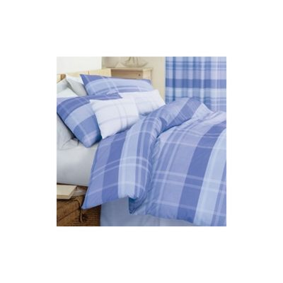 Dreams 'N' Drapes Glencoe Quilt Set in Blue - Double