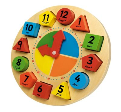 John Crane Tidlo Sorting and Teaching Clock