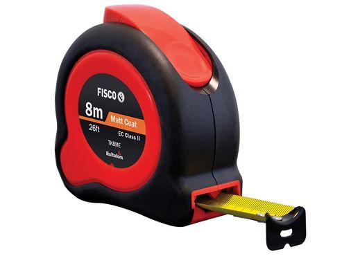 Fisco TKC8ME Tuf-lok Pocket Tape 8m/26ft (Width 25mm)