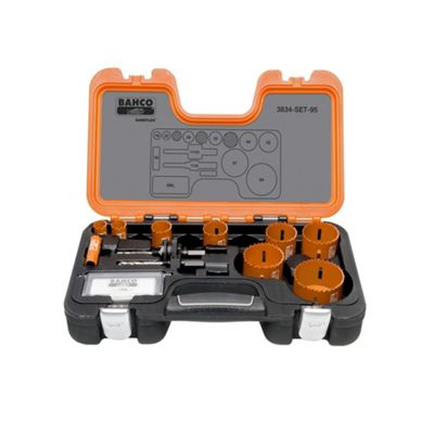 Professional Holesaw Set 3834-95 16-64mm