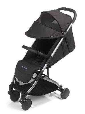 Mee-Go Trio Stroller plus Carry Bag - Jet (Black)