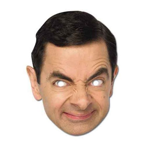 Celebrity Paper Masks - Mr. Bean