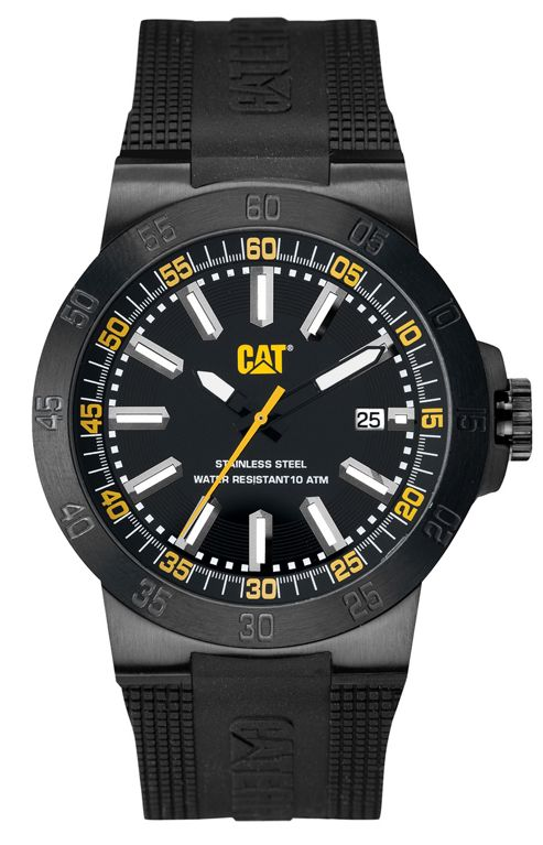 CAT Cosmofit 2012 Mens Rubber Date Watch YP.161.21.124