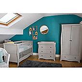 Little House Nursery Furniture Room Set in Grey - Brampton Collection
