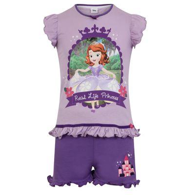 Disney Sofia The First Toddler Girls Short Pyjamas 18-24 Months