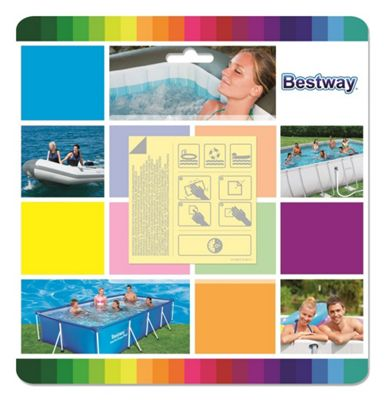 Underwater Adhesive Repair Patch 10 Pack - Bestway