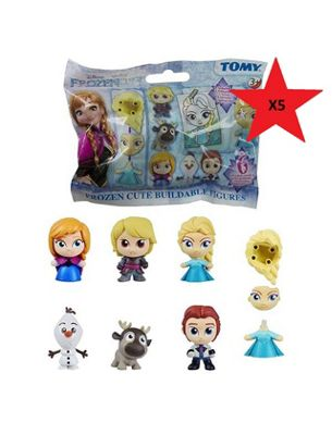 Frozen Buildable Figure Blind Bag X5
