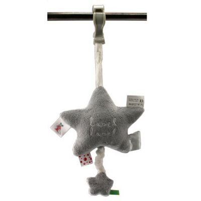 Label Label Musical Pull-String Educational Toy Grey / White