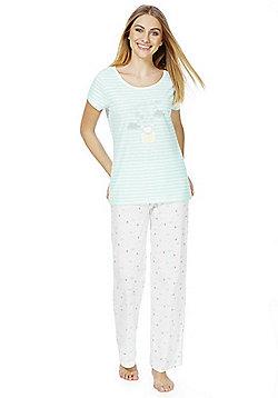 F&F Mouse Dreams Pyjamas - Blue