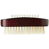 Kent ART 8 Stained Wood Nail Brush - Red