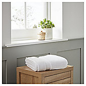 Fox & Ivy Supremely Soft Bathroom Textiles - White